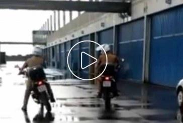 Brazil Motoros Rendőr és az elindulás