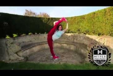 Na ez a nő tudja, hogy mi az a karate! Zseniális tehetség!