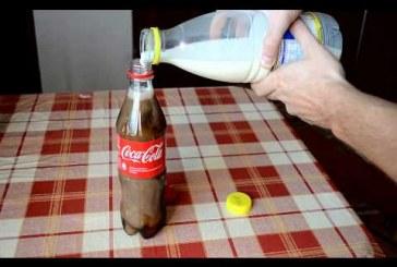 Nézd meg mit csinál a tejből a kóla 6 óra alatt!!