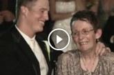 Beteg anyuka és fia, a vőlegény esküvői tánca nagyon megható és örök emlék!