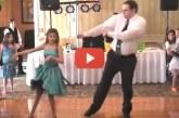 Az egyik legviccesebb apa-lánya tánc amit valaha láttunk – Ez hatalmas, nézd meg!