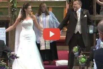 A legszürreálisabb esküvő, amit valaha láttál – Ez hatalmas, nézd meg!
