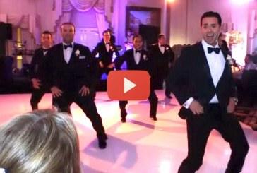 Meglepetés tánc a menyasszonynak