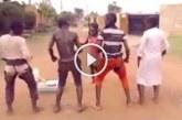Afrikai gyerekek elképesztő tánca