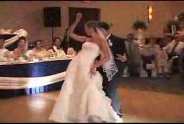 Michael Jackson megleptés esküvői videó