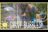 Így készíts hatalmas buborékokat egyszerűen – A gyerekek imádni fogják!