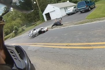 Két motorbaleset közé szorult, ennek mennyi lehet az esélye?
