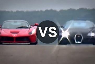 Ferrari LaFerrari Vs Bugatti Veyron 1/4 mérföldes gyorsulási verseny
