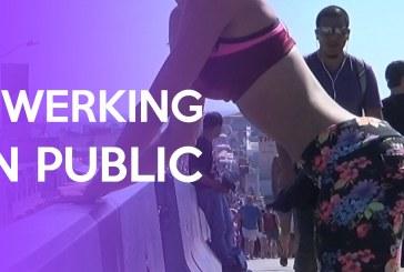 Lexy Panterra megtanítja, hogyan rázd a segged nyilvánosan! Annyira dögös!