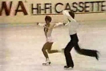 A leghíresebb magyar jégtánc páros – Produkciójuk az 1979-es bécsi világbajnokságról