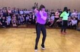 Ez a lány megmutatja, hogy nem számít a kinézet, ha valaki így tud táncolni!