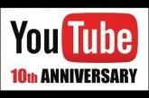 10 éves a YouTube! Nézd meg Te is a legnépszerűbb feltöltött videókat 3 percbe sűrítve!