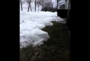 Hihetetlen jelenségnek lehettek tanúi a zord tél következtében – Nem semmi, láttál már ilyet?!