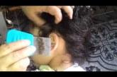 A hideg is kirázott, amikor megláttam miket szedtek ki a gyerek hajából! HIHETETLEN! :S