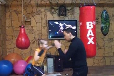 Ez a 6 éves kislány tuti K.O.-val győzne ellened! – Videó