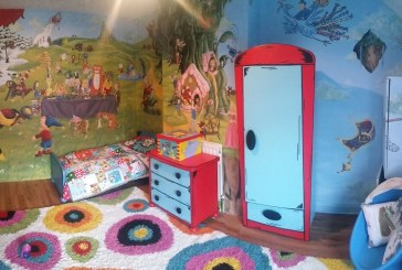Szó szerint mesevilágba csöppenünk, ha belépünk ebbe a gyerekszobába- Képek