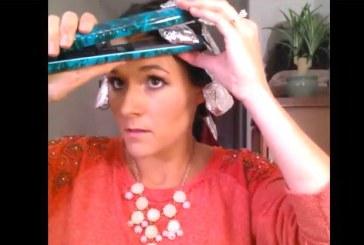 Ámulni fogsz, milyen egyszerűen tudsz hajat göndöríteni csupán egy háztartási eszközzel! – Videó