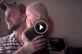 A kislány rettentően élvezi az esőt, de figyeld mit tesz erre az apuka! – Videó