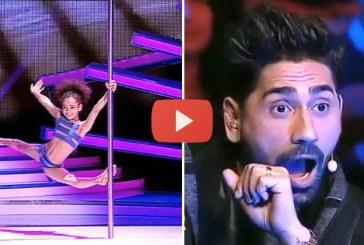 Mindenkinek leesett az álla, mikor meglátta a 8 éves kislány brutális produkcióját! – Videó