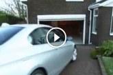 Beparkol a garázsba, ami ezután történt arra senki nem számított! – Videó
