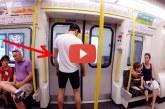 Kiugrott a metró ajtaján, ami ezután történt az egészen elképesztő! – Videó