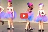 Íme Jessica, a legcukibb balerina, akit valaha láttál! – Videó