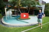 Eszméletlenül gyönyörű háza van, de a mi a pincében van, attól elájulsz! – Videó