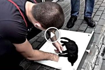 Ez a férfi olyat tett a haldokló kiscicával, amire senki nem számított! – Videó
