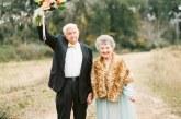 A legromantikusabb fotósorozattal ünnepelte 63. házassági évfordulóját egy idős házaspár