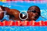 Eric az angolna világhírű úszása az Olimpián – Nem bírod ki nevetés nélkül!