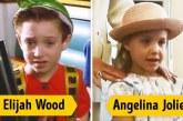 Hollywoodi sztárok életük első szerepében
