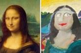 11 újrafestett remekmű… (híres festmények gyerekszemmel)