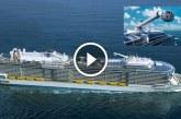 A világ legnagyobb és legmodernebb luxushajója – Nem fogod elhinni mik vannak benne!