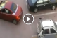 Nő megbosszulja, hogy elvették tőle parkolóhelyét! Figyeld, mit csinál!