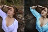 12 fénykép Photoshop előtt és után