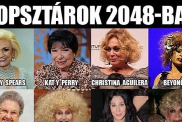 Popsztárok 2048-ban