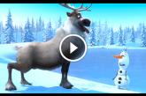 A hóember, a rénszarvas és a répa – Nagyon mókás animációs filmrészlet