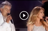Celine Dion és Andrea Bocelli közös éneke – Ez lélegzetelállító!